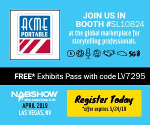 NAB Show Registration Button