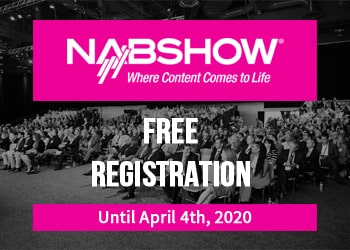 NAB 2020 Registration